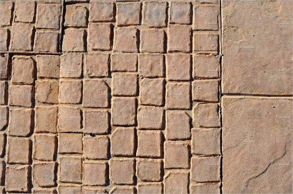 stone stamped concrete texture