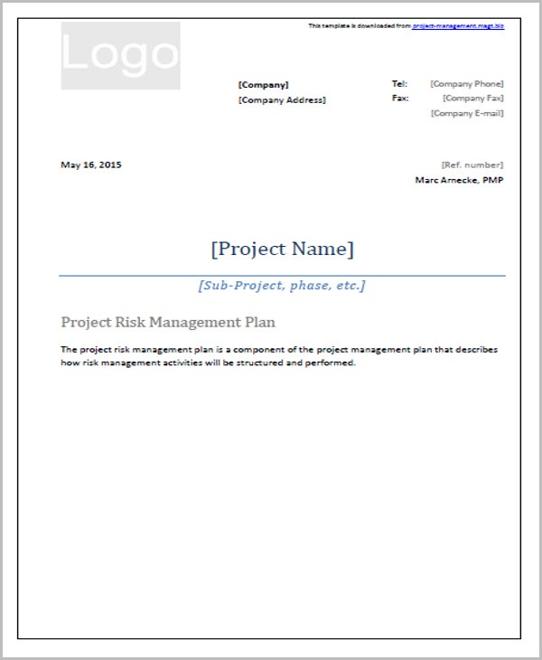 33 management plan templates free premium templates for Project management policy template