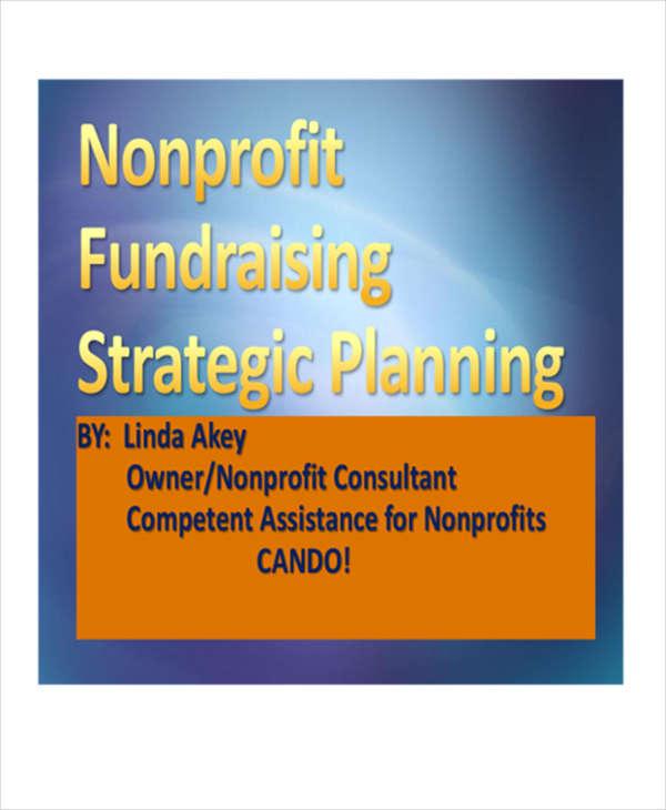non profit fundraising strategic plan1