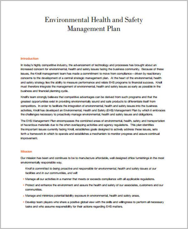 33 management plan templates free premium templates for Regulatory plan template