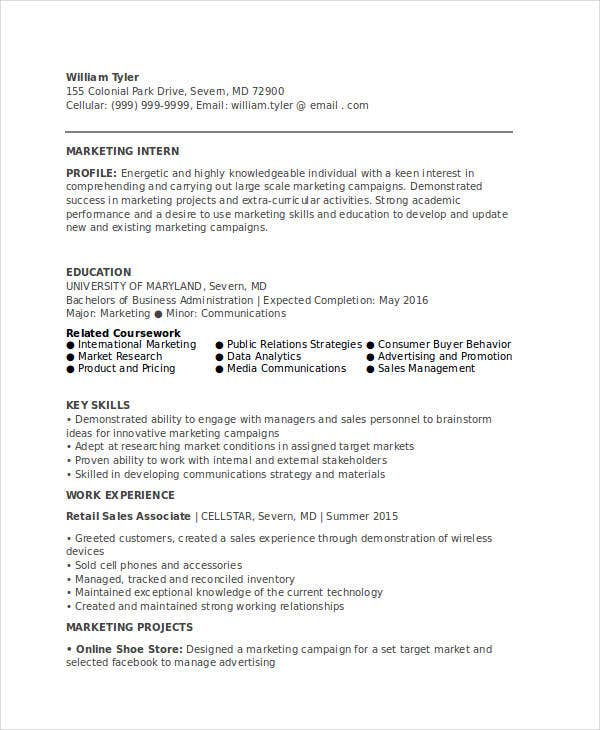 45 marketing resume templates pdf doc free premium templates