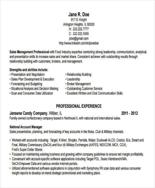 advertising account director resume