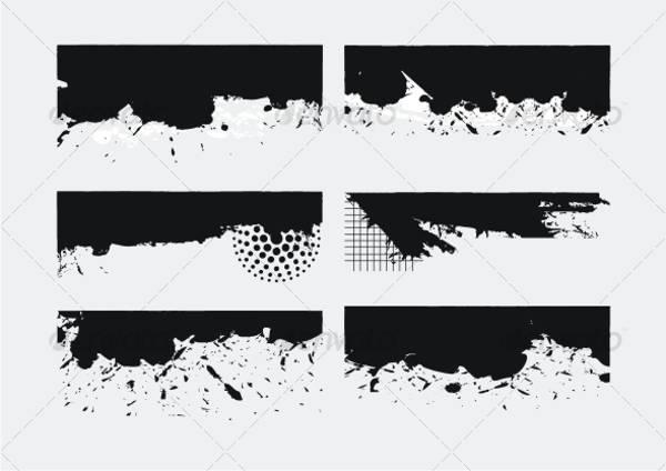Grunge Border Texture
