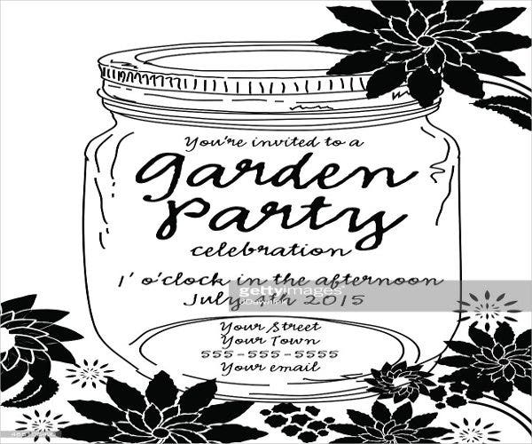 black-and-white-garden-party-invitation