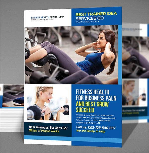 Ladies Gym Advertising Poster