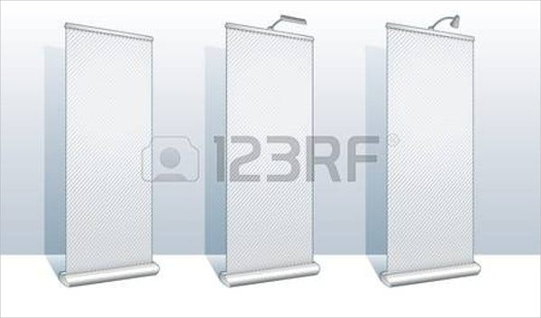 roll-up-banner-vector