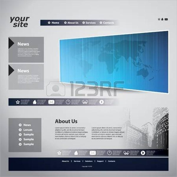 website flash banner