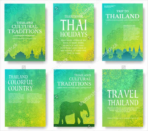 Travel Guide Advertising Poster