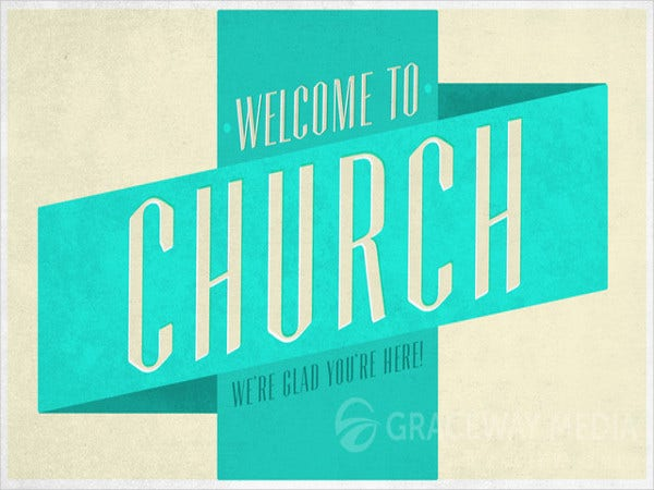 church-welcome-banner