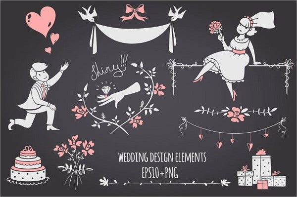 chalkboard bridal shower banner