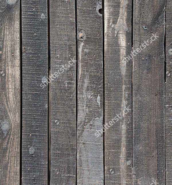 Aged Black Wood Texture