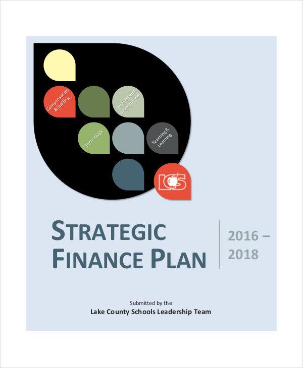 school financial strategic plan