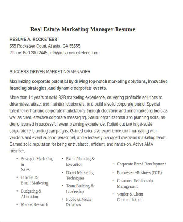 real estate marketing resume 28 images real estate