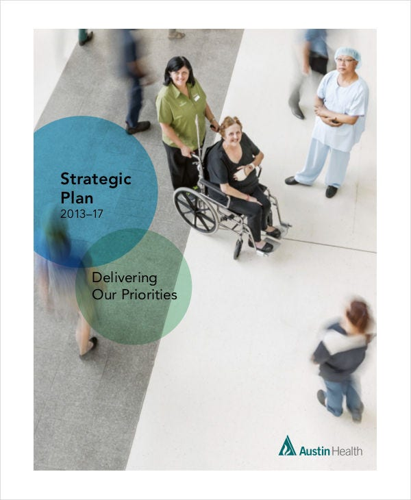 hospital financial strategic plan