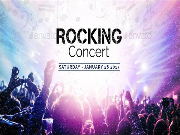 music concert banner