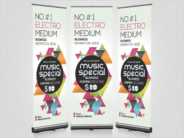 music party banner