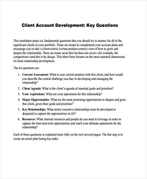 33 management plan templates free premium templates for Client management plan template