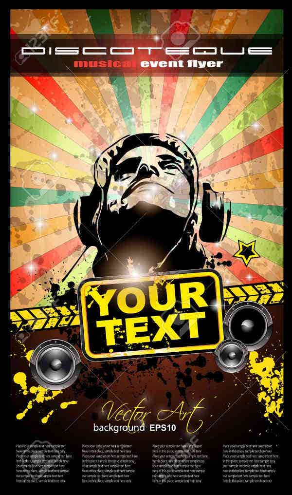 vintage-dj-event-poster