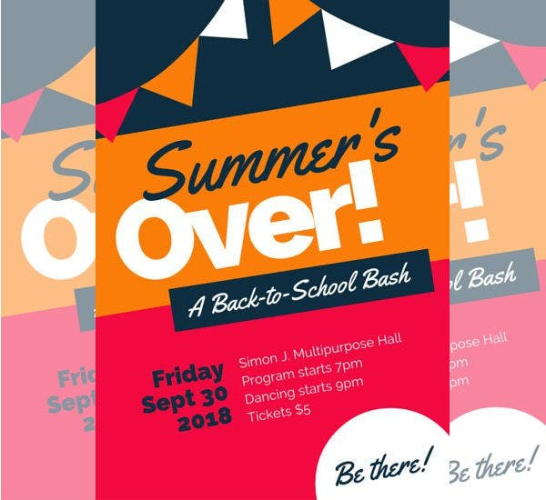 back-to-school-event-poster