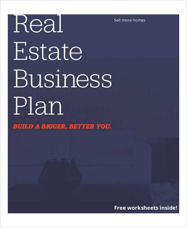 real estate business development plan