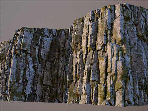 Rock Cliff Face Texture