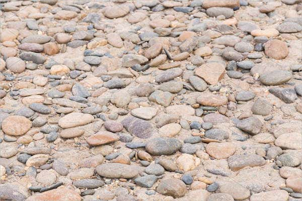 Seamless River Rock Texture