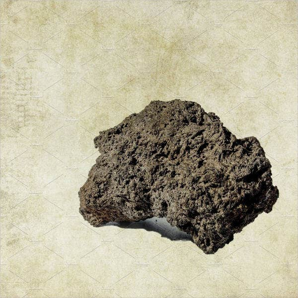 Volcanic Rock Vesicular Texture