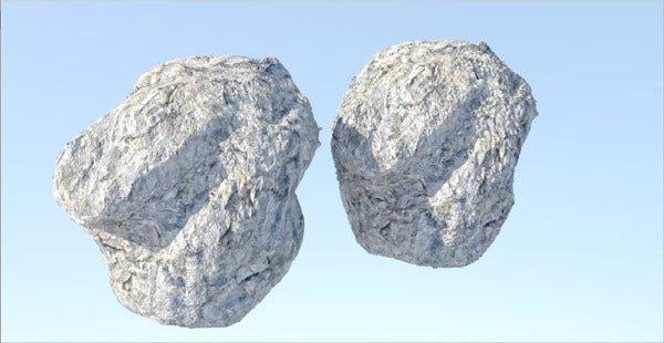 Blender Low Poly Rock Texture