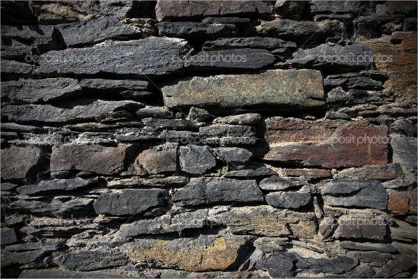 Dark Aged Rock Texture