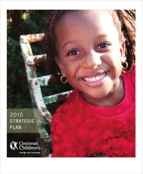 childrens hospital strategic plan