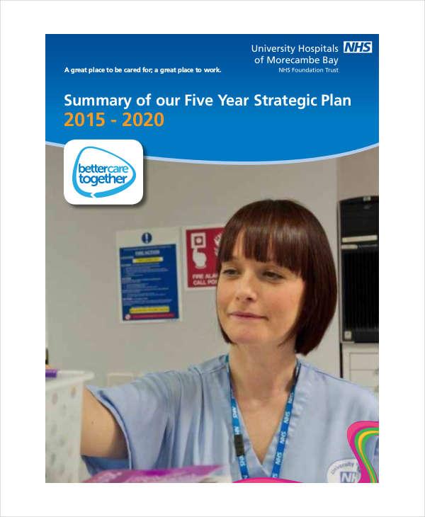 5 year hospital strategic plan
