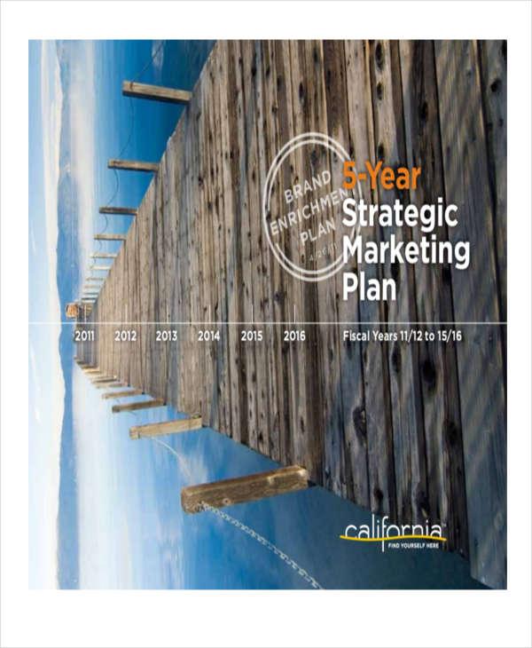 5 year strategic marketing plan2