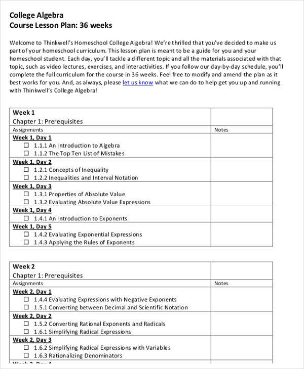 Great College Lesson Plan Template Contemporary Resume Ideas - College lesson plan template