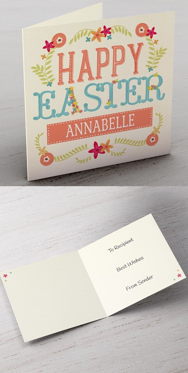 personalize-easter-card