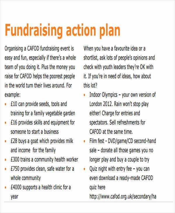 fundraising event action plan2