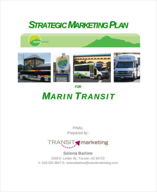 business strategy marketing plan