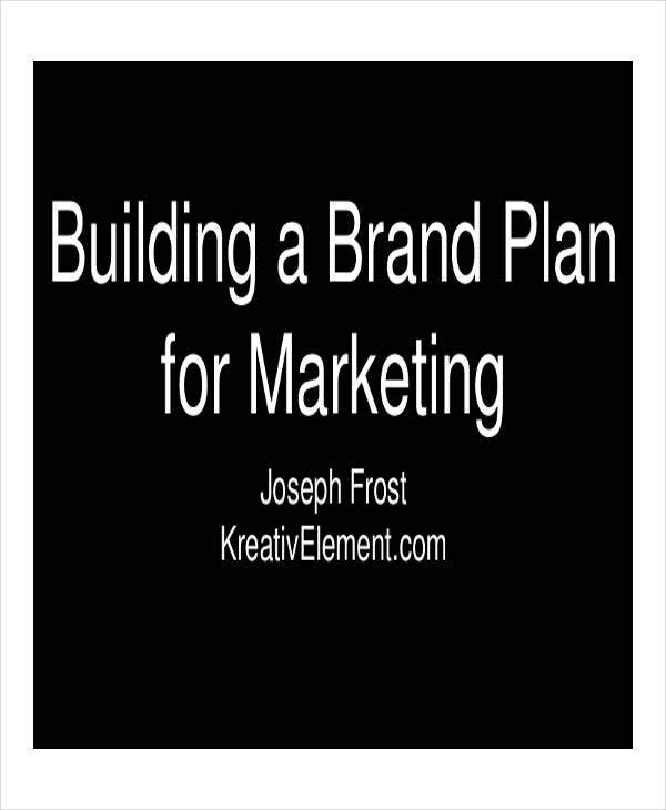 annual brand marketing plan