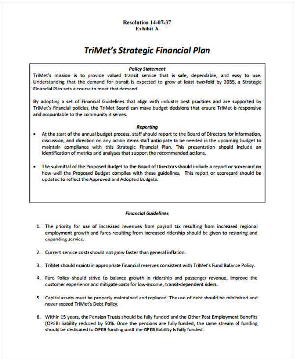 strategic financial management plan1