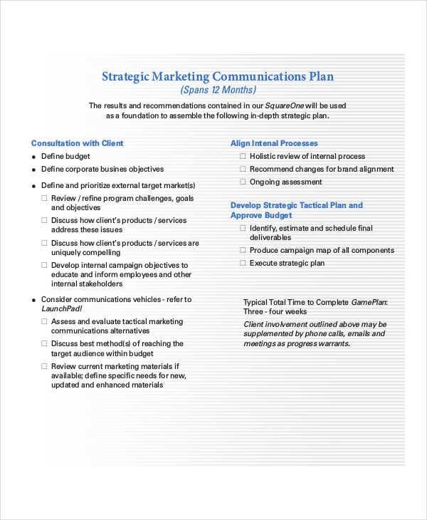 strategic marketing communications plan2