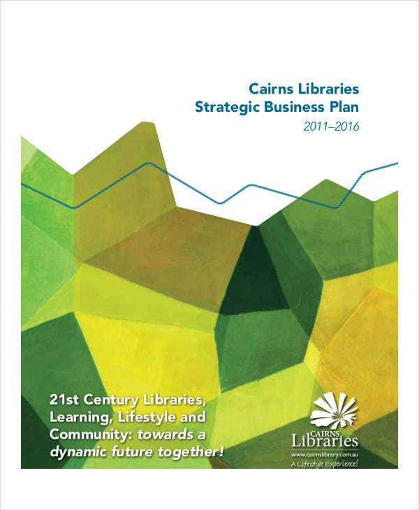 library strategic business plan