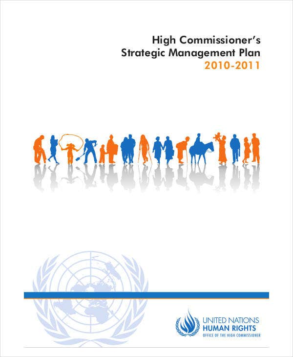 high commissioners strategic management plan