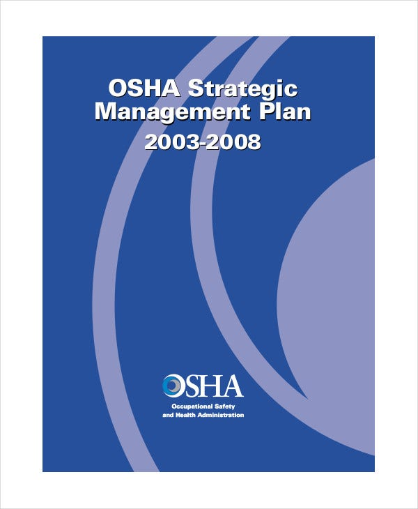 osha strategic management plan