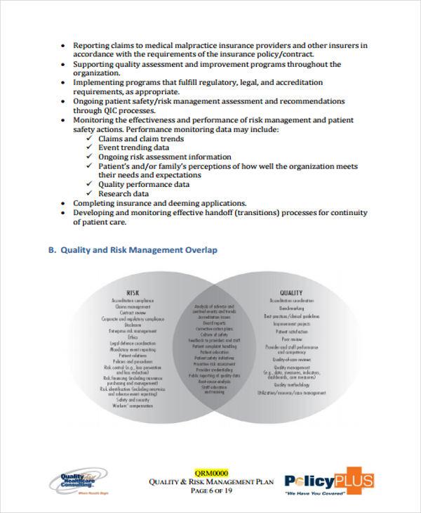 medical risk management plan1