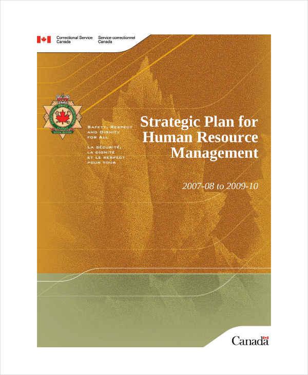 hr management strategic plan