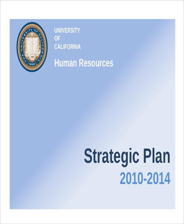 university hr strategic plan