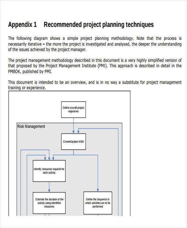 network project implementation plan