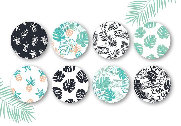 tropical pattern illustration
