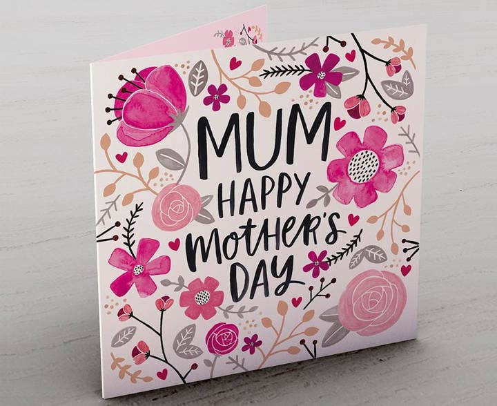 Floral Card for Mother's Day