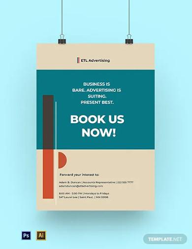 advertising agency poster