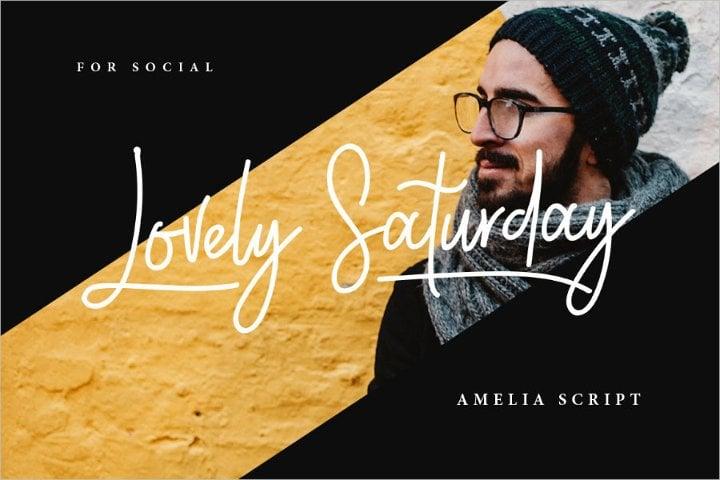 amelia script font11